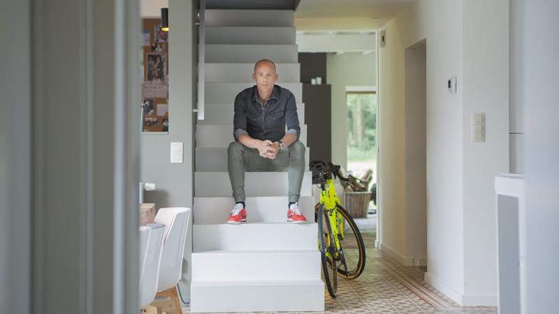 Design trappen vergeert en sven nys in het één programma het huis
